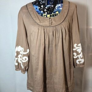 Tan Tunic by ana